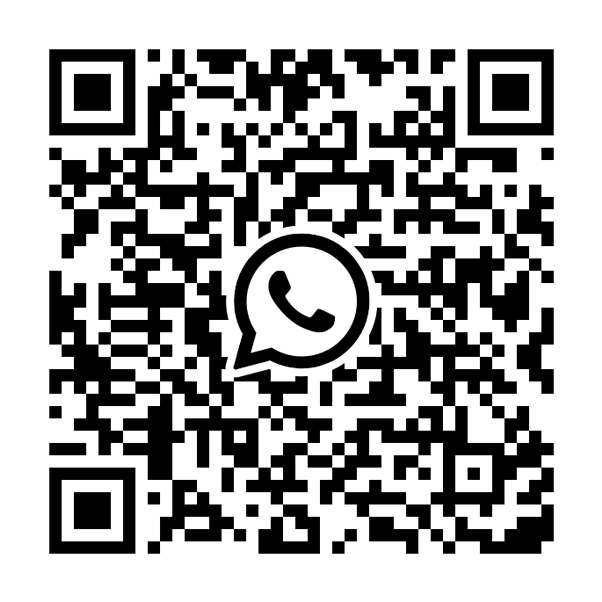 Scan with your phone to start the Whatsapp Business demo.